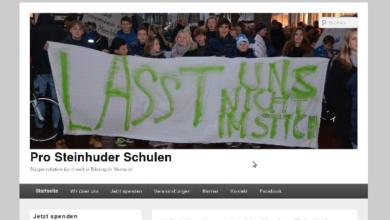 Bild von Bürgerinitiative Pro Steinhuder Schulen kämpft weiter für den Bürgerentscheid