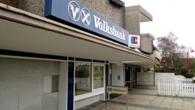 Photo of Auch die Volksbank verlässt den Standort Barne