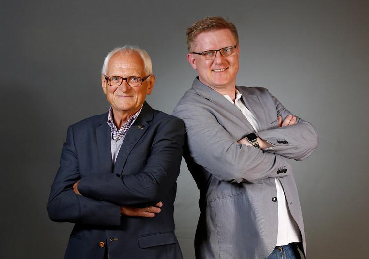 Kurt Rehkopf und Thorben Rump| Foto: Ralf Orlowski/FDP Wunstorf
