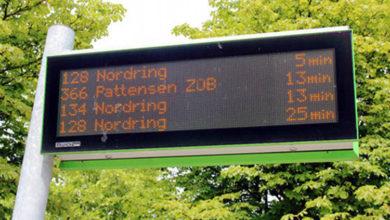 Bild von Elektronische Bus-Anzeigetafel für Wunstorf?