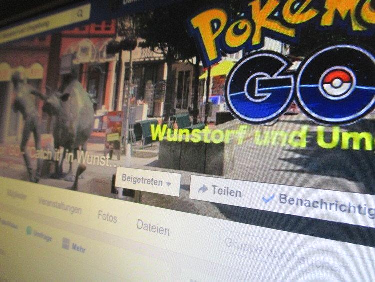 Wunstorfer Pokémon-Gruppe bei Facebook