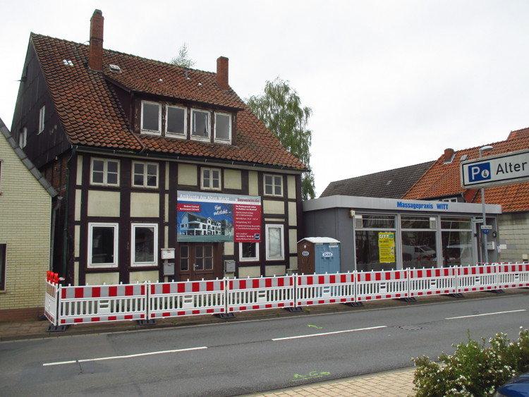 Diese beiden Gebäude werden derzeit abgebrochen | Foto: Daniel Schneider