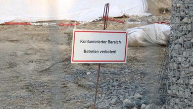 Bild von Erhöhte Asbestwerte an der Fulgurit-Halde
