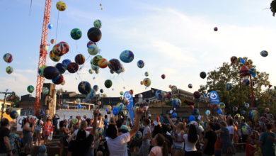 Bild von Zirkus, Spiele und 300 Luftballons