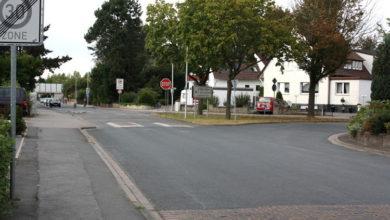 Bild von Zwei Unfälle an der Barne-Verkehrsinsel