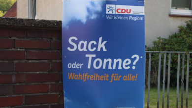 Photo of Wahlplakat-Potpourri zur Kommunalwahl 2016
