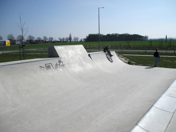 Skater-Anlage an der Emanuel-Grund-Straße | Foto: Daniel Schneider
