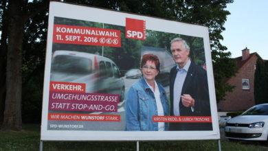 Bild von Wann bekommt Wunstorf die Umgehungsstraße?