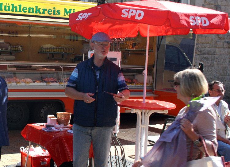 Wahlstand der SPD | Foto: Daniel Schneider