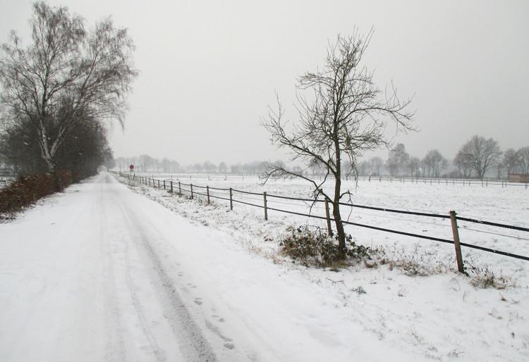 Sibirisches Wetter in Wunstorf | Foto: Daniel Schneider