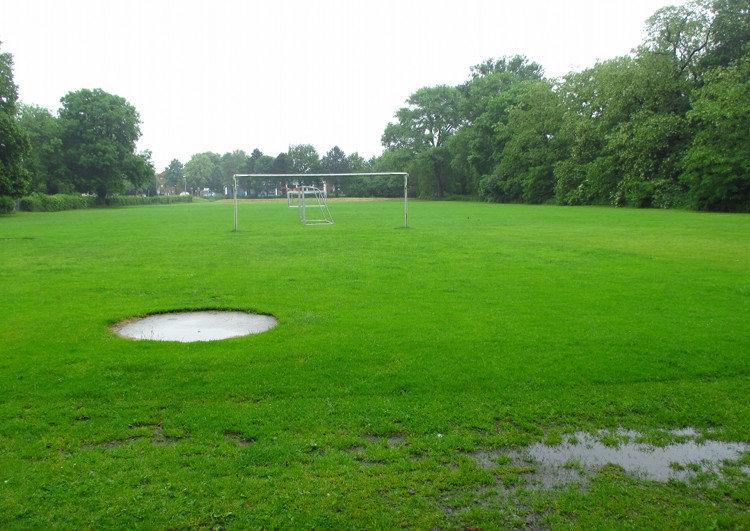Der Jahnplatz mit Fußballfeld | Foto: Daniel Schneider