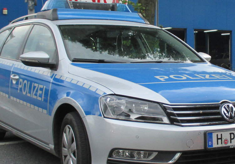 Streifenwagen der Wunstorfer Polizei