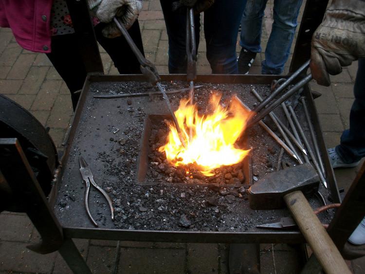 Heiße Eisen im Feuer | Foto: Stadt Wunstorf