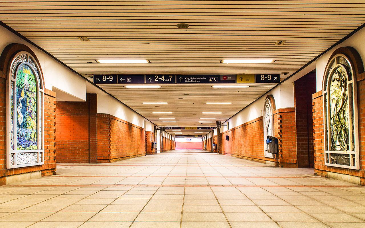 Die Unterführung im Wunstorfer Hauptbahnhof | Foto: Andreas-M. David