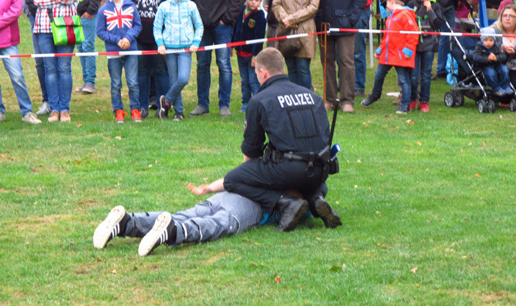 demonstration festnahme