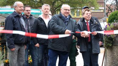 Bild von Wunstorfs neuer Marktplatz ist fertiggestellt