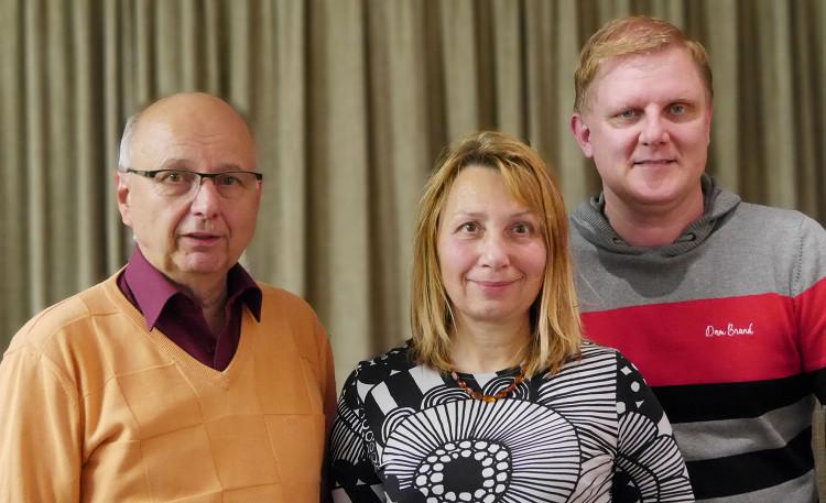 Die Vertreter der Steinhuder Ampel: Wilhelm Bredthauer, Isa Liemann und Thorben Rump  Foto: privat