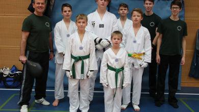 Bild von Klein Heidorner Taekwondokämpfer siegten beim Vollkontaktturnier