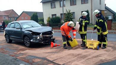 Bild von Schwerer Verkehrsunfall in Hagenburg