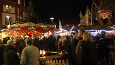 Bild von Der Wunstorfer Weihnachtsmarkt öffnete seine Pforten