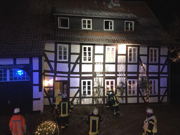 Das Dachgeschoss ist nach dem Brand nun vorerst nicht mehr bewohnbar | Foto: Feuerwehr Wunstorf