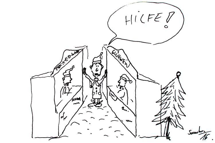 karikatur-weihnachtsmarkt-wunstorf