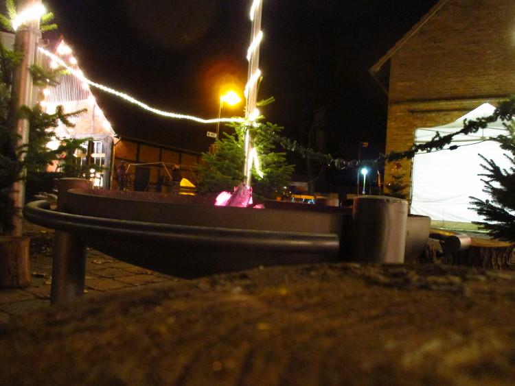 Feuerstelle auf dem Steinhuder Weihnachtsmarkt | Foto: Daniel Schneider