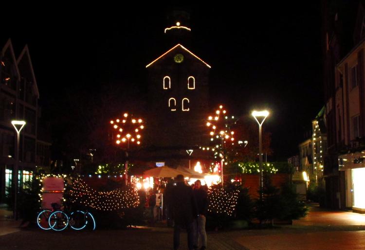Westlicher Eingang zum Wunstorfer Weihnachtsmarkt | Foto: Daniel Schneider