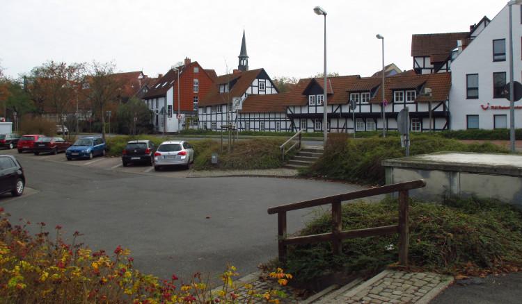 nordwall parkplatz westen