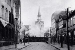 Steinhuder Meer-Bahn vor Stadtkirche