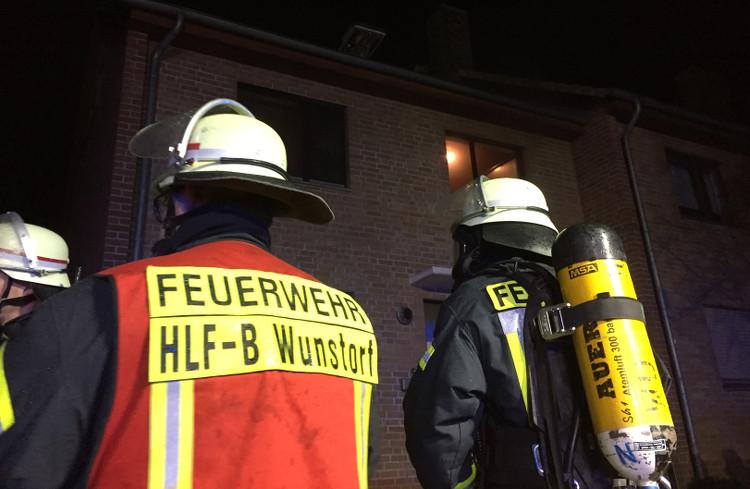 Photo of Weihnachtsbaumbrand in Kolenfelder Reihenhaus