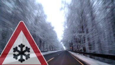 Bild von Wintereinbruch mit starken Schneefällen