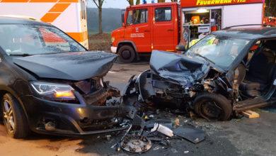 Bild von Verkehrsunfall mit vielen Verletzten