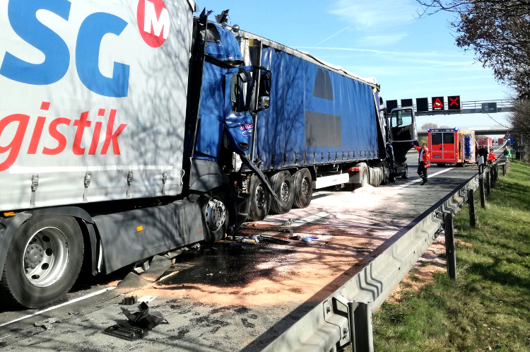 Photo of Wieder schwerer Unfall auf der A 2