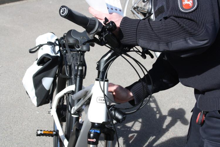 fahrradcodierung sauber