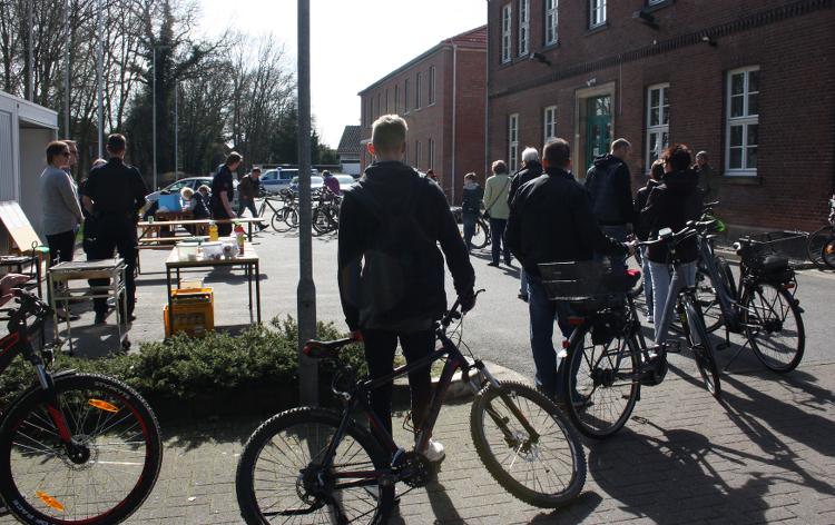 fahrradcodierung schlange