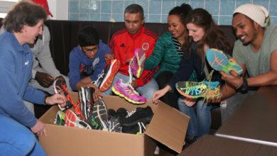 Bild von Läufer aus Flüchtlingswohnheim starten beim Hannover Marathon