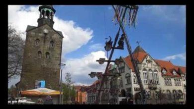 Bild von Der Maibaum steht wieder in Wunstorf