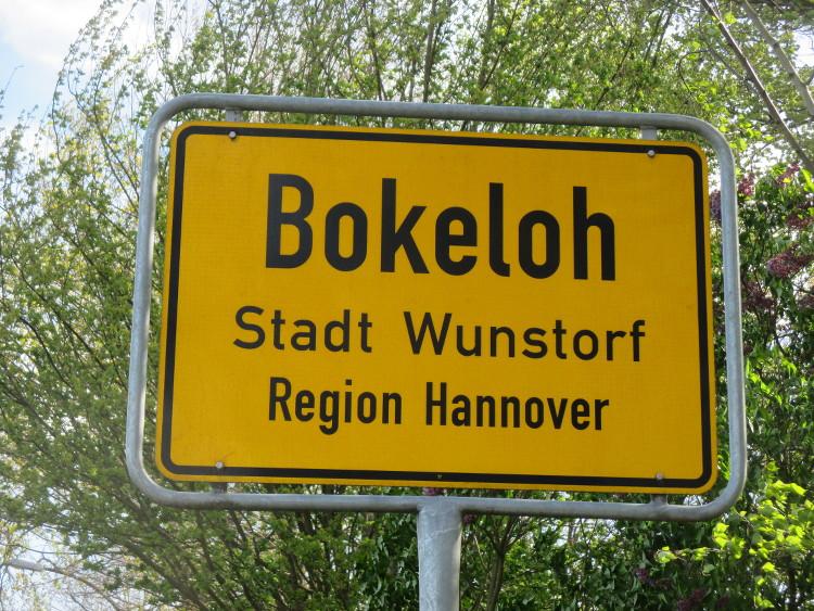 Ortsschild Bokeloh
