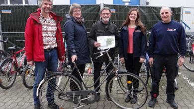 Bild von Fahrradwerkstatt entsteht im Johanniter-Wohnheim