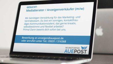 Bild von Auepost sucht Mediaberater / Anzeigenverkäufer (m/w)