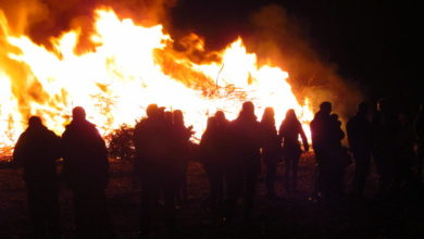 Photo of Osterfeuer 2019 in Wunstorf