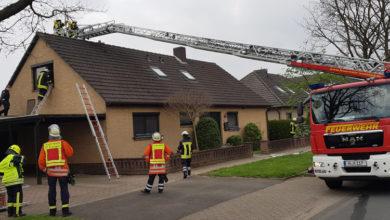 Bild von Feuerwehr bekämpft Schornsteinbrand