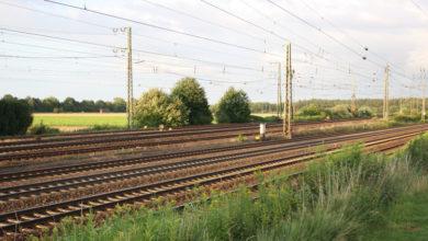 Bild von Bahnverkehr unterbrochen