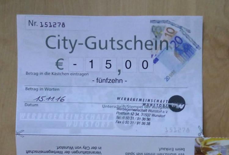 Photo of Das Wunstorfer Citygutschein-Chaos
