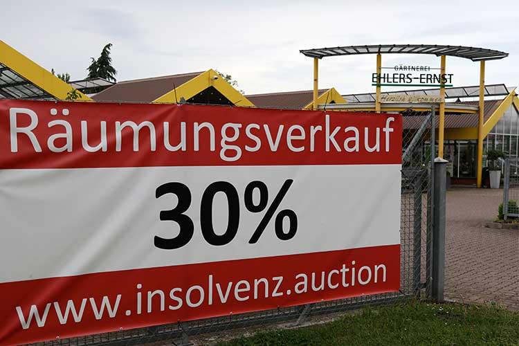 Traditionsgärtnerei Ehlers-Ernst aus Wunstorf ist insolvent