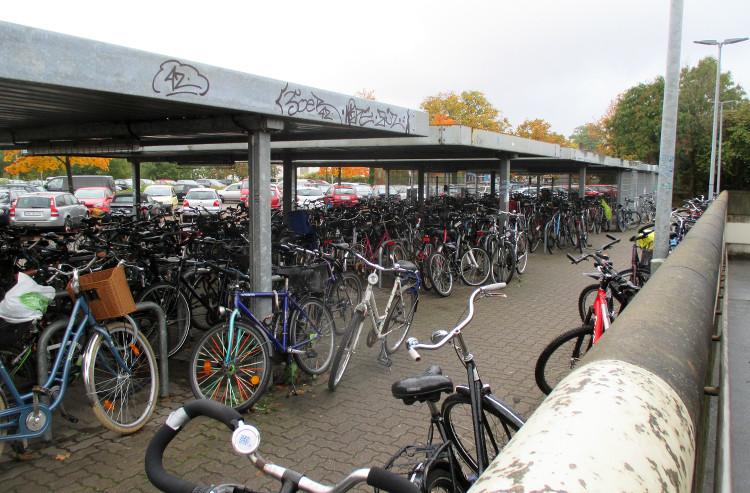 fahrradstellplaetze bahnhof wunstorf