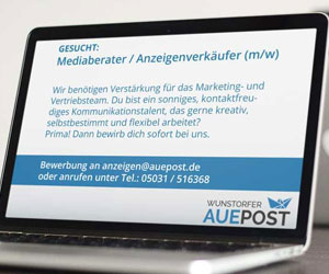 Auepost such Mediaberater