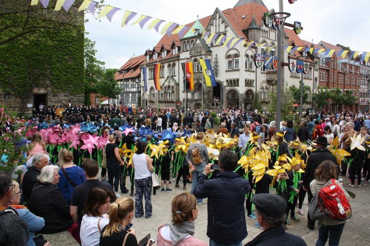 Photo of Blumiges Wunstorfer Schützenfest 2017