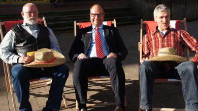 Bild von Entspannte Gewinner bei Stadtsparkassen-Auslosung